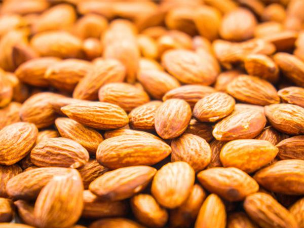 What is the price of almonds?